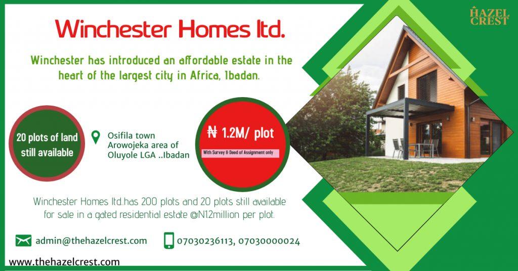 Winchester homes Ibadan